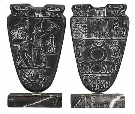 the main characteristics of king narmers palette Narmer palette the first known example of relief sculpture in the egyptian style (circa 3000 bce) was the narmer palette, commemorating this king's victory over ten enemies of egypt though scholars disagree on the precise details, the narrative would have been clear to viewers contemporary with narmer.