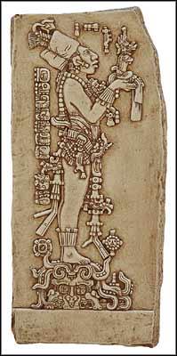ITEM TYPE Wall plaque. ITEM MATERIAL Casting stone. ITEM FINISH Antique stone finish. RETAIL PRICE $49.00. SHIPPING $7.00 & King Chan-Bahlum Chan-Bahlum Snake-Jaguar Maya Art Maya ...